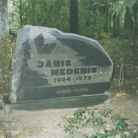 Jāņa Medeņa kapa vieta