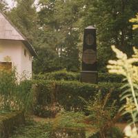 Anša Lerha-Puškaiša kapa vieta