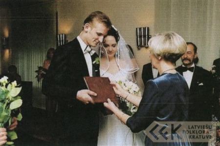 Kaspara un Leldes Vaļinieku kāzas
