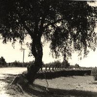 Mūrnieku tilts pāri Abavai 1968. gadā