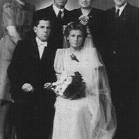 Jēkabs Ziedars radinieku kāzās