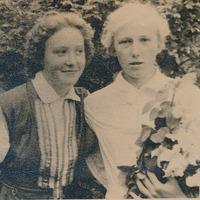 Silvija Priedniece un Vaira Eglīte