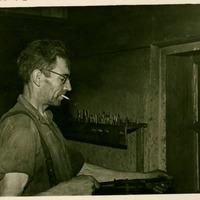 Portrait of Voldemārs Mitenieks