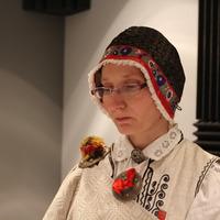 Nīcas etnogrāfiskā ansambļa dalībniece Aija Sileniece