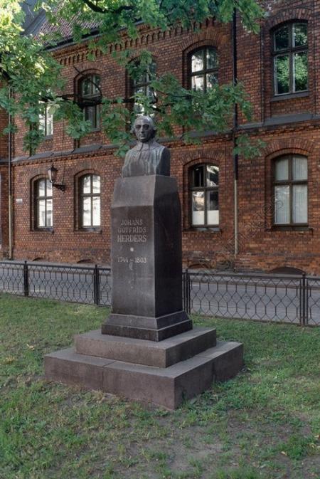 J.G.Herdera piemineklis Rīgā.