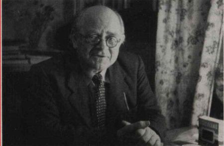 Kārlis Straubergs 1950. gadā Stokholmā