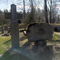 Jāņa Peitāna kaps Vecmilgrāvja kapos, Rīgā