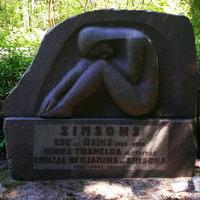 Simsonu dzimtas kapi