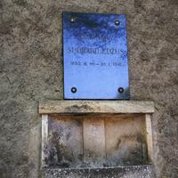 Sudrabu Edžus kapa plāksne
