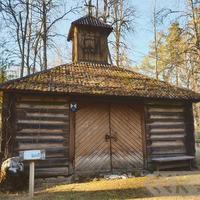Chapel in Ulbrokas Forest Cemetery