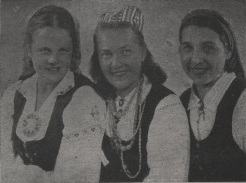 Dzejnieces Klāra Zāle, Rūta Skujiņa, Alma Rihtere