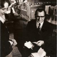 Ilgoņa Bērsona tikšanās ar lasītājiem Tukumā 1976. gada aprīlī