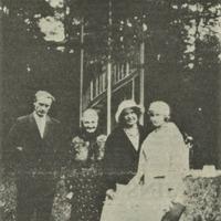 Vilis Polis, Anna Rijniece, Aspazija un Virēna Rozenberga
