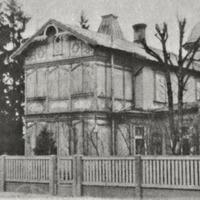 Aspazijas māja Dubultos 1939. gadā