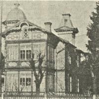 Aspazijas māja 20. gadsimta 30. gadu beigās