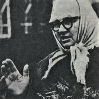 """""""Kalāču"""" muzeja vadītāja Biruta Leite 1972. gadā"""