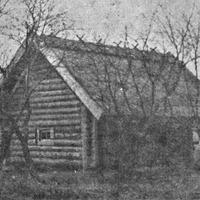 """1961. gadā atjaunotā klēts """"Brakos"""""""