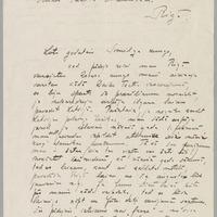 Marisa Vētras vēstule (pirmā daļa)
