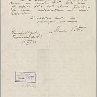 Marisa Vētras vēstule (otrā daļa)