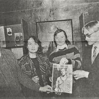 Jānis Ramba, Irēna Auziņa, Jānis Einfelds un Orests Silabriedis J. Akuratera muzejā
