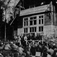 """Atjaunotie """"Saulrieti"""" muzeja atklāšanas dienā"""