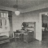 Andreja Upīša darba kabinets Skrīveros