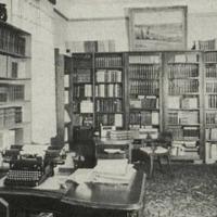 Viesistaba Andreja Upīša Rīgas dzīvoklī