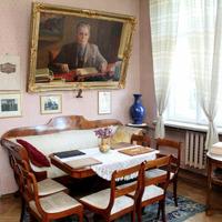 Kabinets Andreja Upīša memoriālajā muzejā