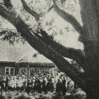 """E. Veidenbauma atceres diena """"Kalāčos"""" 1970. gadā"""