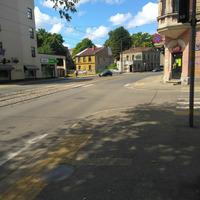 Slokas un Nometņu ielas krustojums