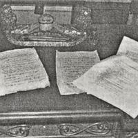 Ieskats Krišjāņa Barona manuskriptos