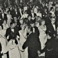 """Skats korporācijas """"Daugaviete"""" 50 gadu jubilejas ballē"""