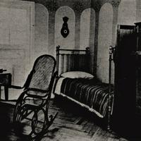 Krišjāņa Barona istabas fragments