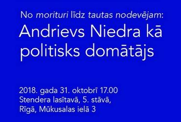 Letonikas lasījumi: Ivara Ījaba priekšlasījums par Andrievu Niedru