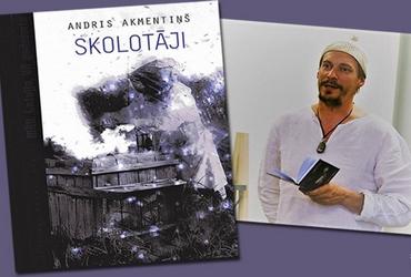 Tikšanās ar rakstnieku Andri Akmentiņu Kuldīgas Galvenajā bibliotēkā