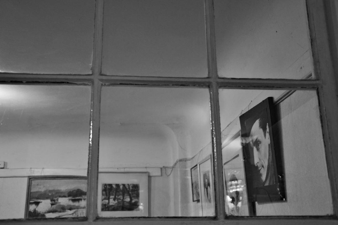 """Jāņa Vādona krājuma """"Klusuma forma"""" atvēršana Ojāra Vācieša muzejā"""