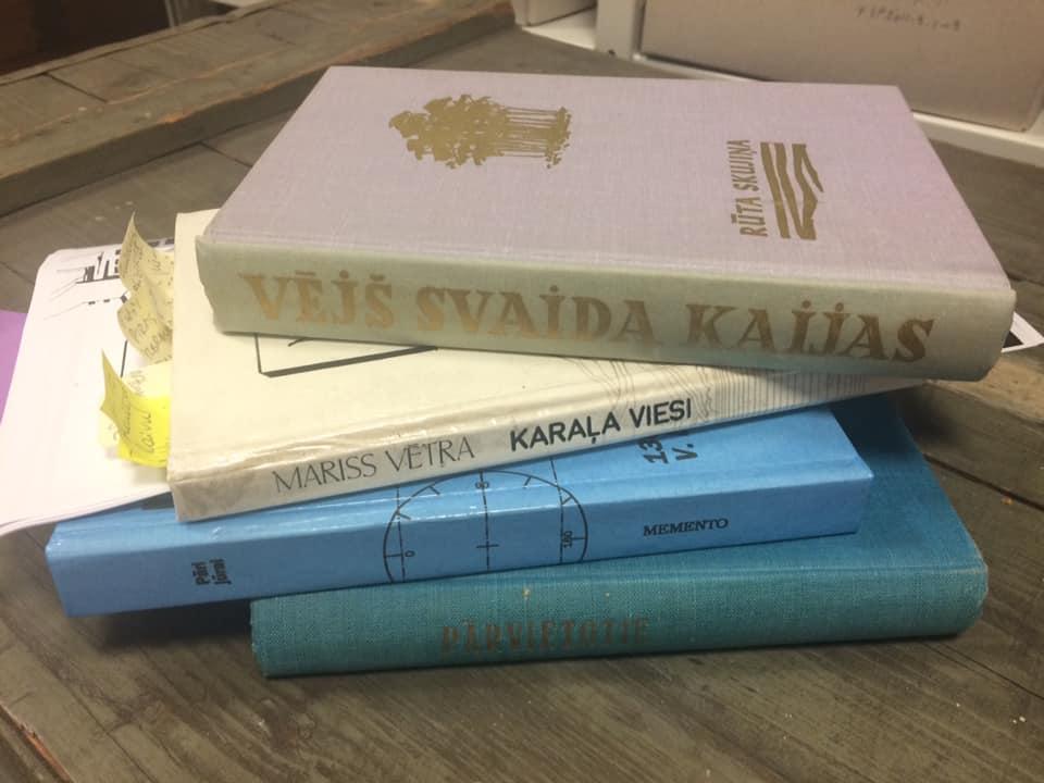 """Literārie lasījumi """"Maize no mājām"""""""