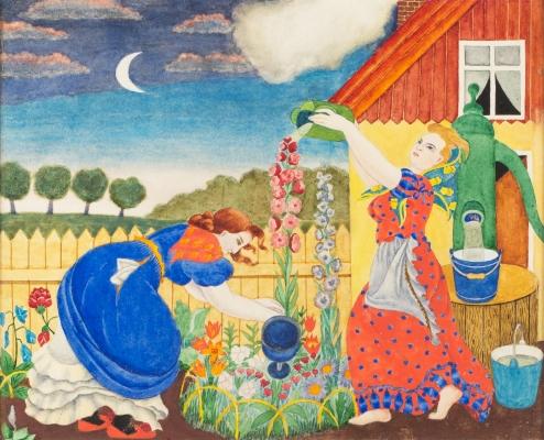"""Izstāde """"Hilda Vīka (1897–1963). Gleznas, zīmējumi"""""""