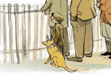 """Ineses Zanderes grāmatas """"Puika ar suni"""" atklāšana"""