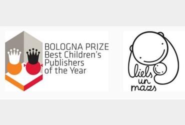 """""""Liels un mazs"""" atzīta par vienu no labākajām bērnu grāmatu izdevniecībām Eiropā"""