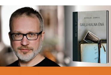 Tikšanās ar ES Literatūras balvas ieguvēju Osvaldu Zebri
