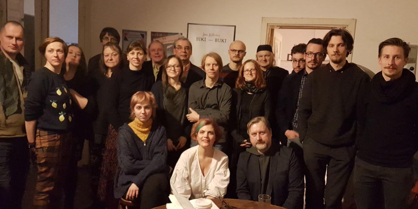 Atjaunots Latvijas PEN