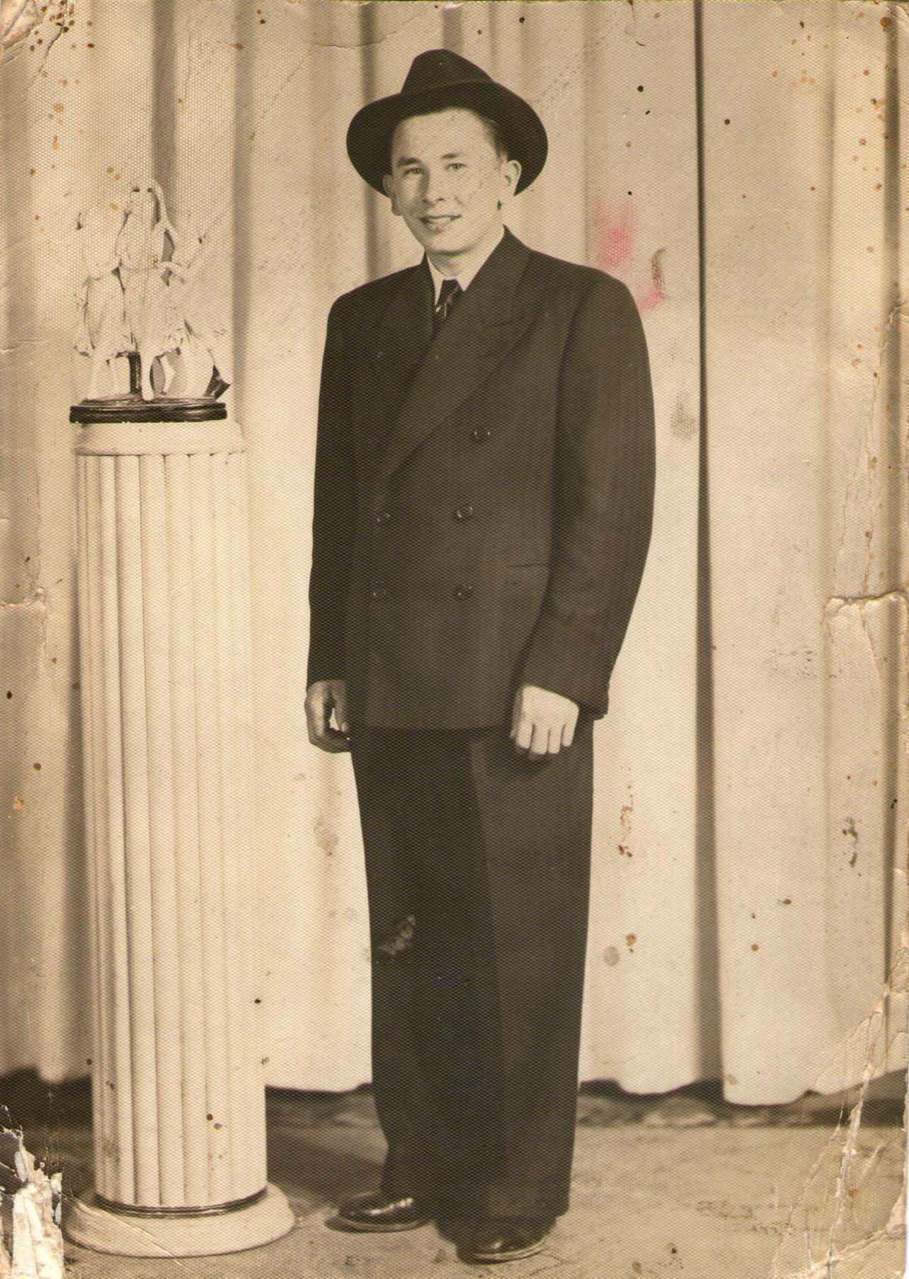 Edgars Reinsons Kanādā 1947. gadā